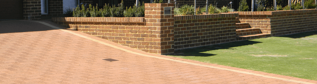 Limestone Concrete Paving by Midland Brick